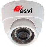 EVL-DL-H11B купольная 4 в 1 видеокамера, 720p, f=2.8мм